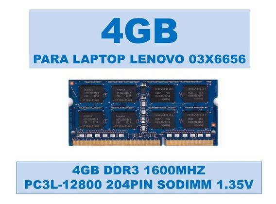 Memoria 03x6656 4gb Ddr3 1600mhz Portátiles Lenovo 1.35v