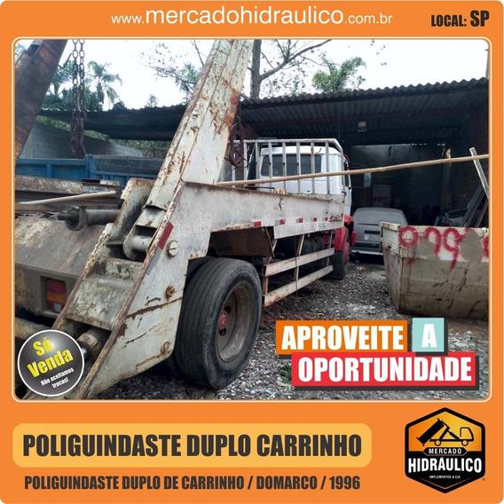 Poliguindaste Duplo De Carrinho - Domarco / 1996