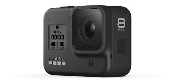 Câmera Gopro Hero 8 Black+ Sd 32gb+ Suportes+ Garantia+ Nfe