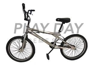 Bicicleta Freestyle Bmx Firebird Rotor 48 Rayos Cromada