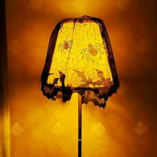 Halloween Lampshade Cover Window Door Fireplace Scarf Cove