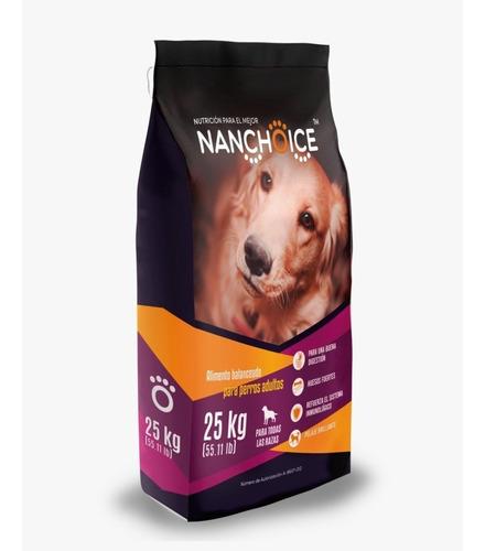 Imagen 1 de 1 de Alimento Para Perro Nanchoice Adulto De 25 Kg
