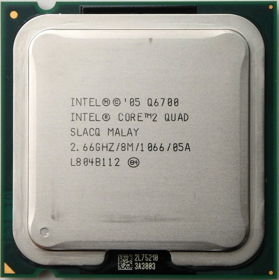 Processador Intel 775core2 Quad Q6700 8mb 2,66ghz 1066 Fsb