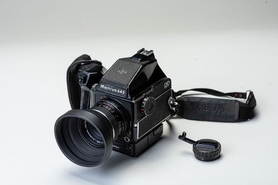 Mamiya 645 1000 + 80mm 2.8
