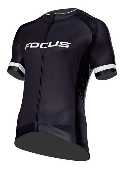 Jersey Ciclismo Focus Rc Negro Blanco