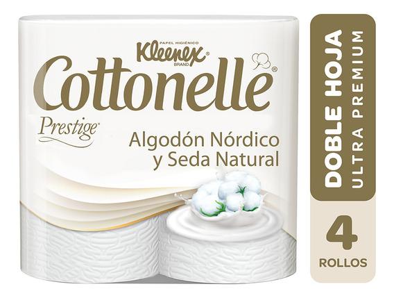 Papel Higienico Doble Hoja Cottonelle 4 Un