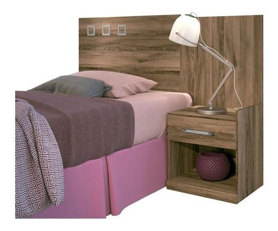 Cabeceira de cama box Santos Andirá Havana Plus Solteiro 148cm x 104.5cm demolição
