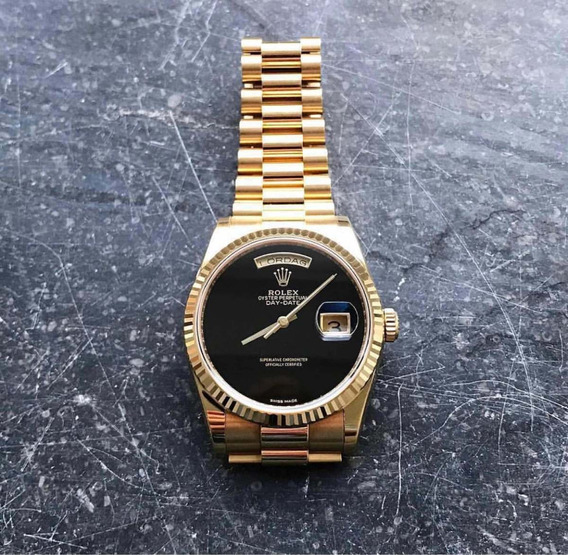 Relogio Rolex Dourado Daydate