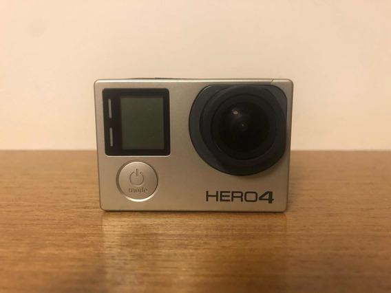 Go Pro Hero 4 Original Seminova + Kit Completo + Itens Extra