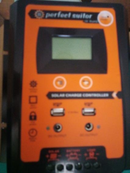 Controlador Carga Solar 50a Pwm 12/24v