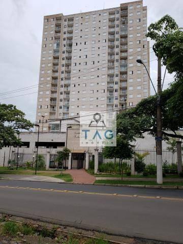 Apartamento Com 2 Dormitórios Para Alugar, 56 M² Por R$ 1.600/mês - Vila Industrial (campinas) - Campinas/sp - Ap0714