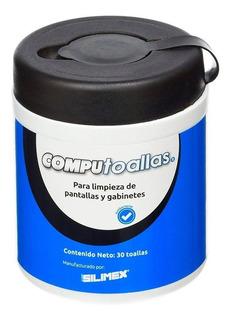 Toallas Húmedas Limpiadoras De Computo Silimex Computoallas