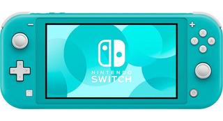 Consola Nintendo Switch Lite Pantalla 5.5 32gb Turquesa Nnet