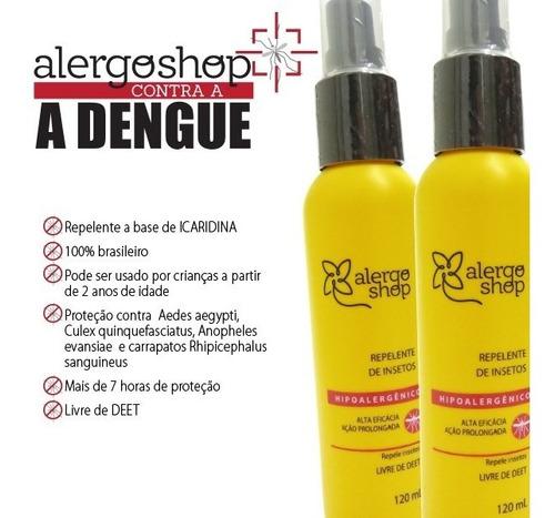 Repelente De Insetos Alergoshop - Antialérgico Com Icaridina