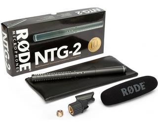 Rode Ntg2 Microfono Boom Condensador Broadcast Cine Tv