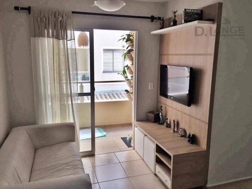 Imagem 1 de 23 de Apartamento Lindo Com 3 Dormitórios C/ Suíte - À Venda, 65 M²  - Jardim Nova Europa - Campinas/sp. - Ap15633