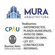 Arquitecto Permiso Obra Planos Municipales Construccion Caba