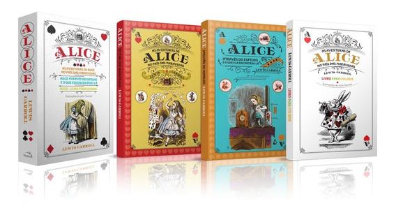 Box Alice País Das Maravilhas - 3 Volumes