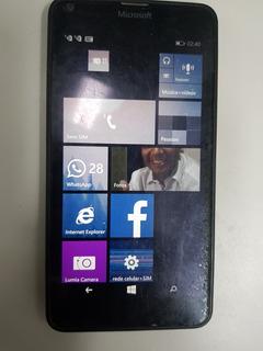 Celular Lumia 640 Dual Sim 3g, 7gb De Memória