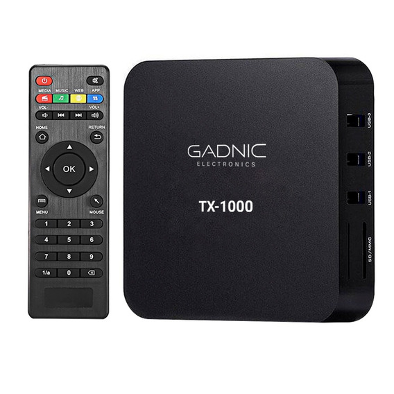 Tv Box Gadnix 1080p Full Hd Netflix Hdmi Peliculas Smart Tv