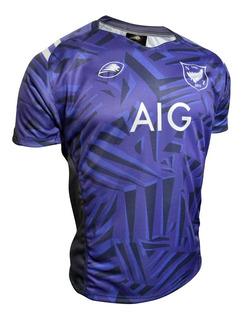 Camiseta Rugby Maori Nueva Zelanda Violet