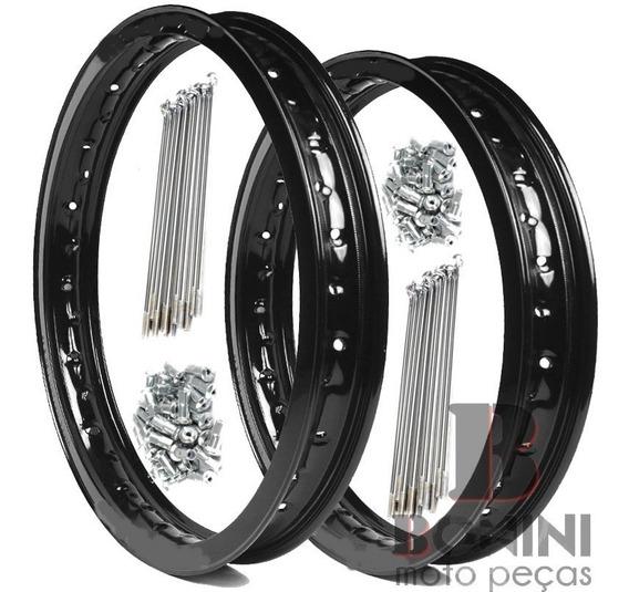 Aro Dianteiro Traseiro Raios 4mm / Cg 125 150 160 Titan Fan