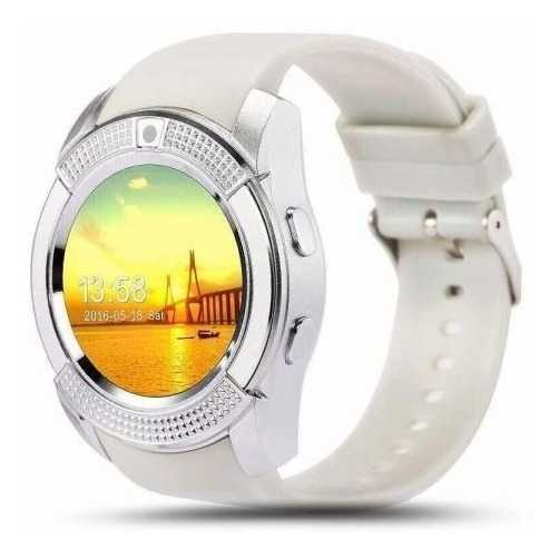 Smart Watch Stylos Sw2 Compatible Android 32mram Blanco