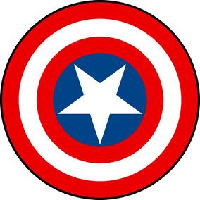 Centro De Mesa Capitão America Escudo