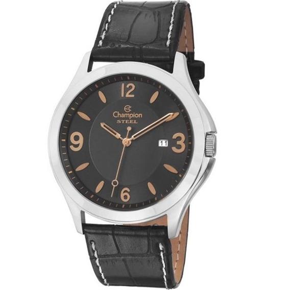 Relógio Champion Masculino Ca21222t,c/ Garantia E Nf