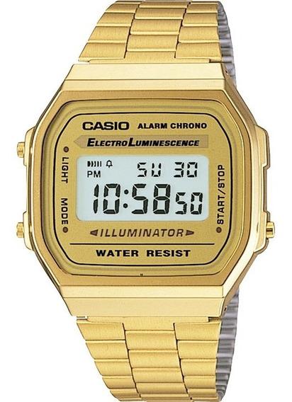 Relógio Casio Vintage Feminino A168wg-9wdf