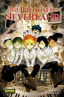 Manga The Promised Neverland Tomo 07 - Norma Editorial