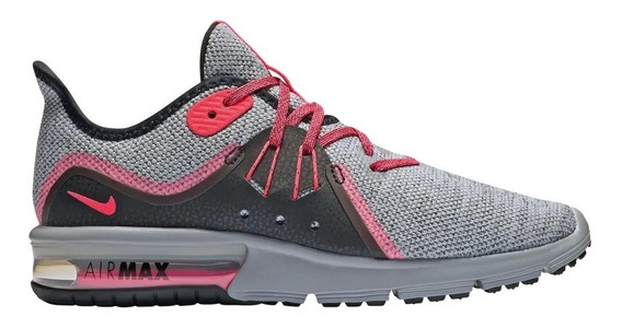 Zapatillas Nike Air Max W Mujer Sequent 3 Gris