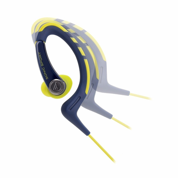 Fone De Ouvido Audio Technica Ath Sport1is Amarelo