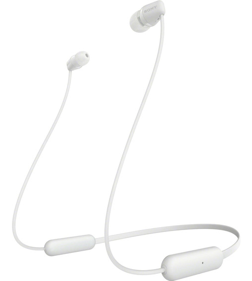 Fone De Ouvido Bluetooth Wi-c200 Branco Sony