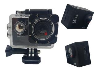 Cámara Deportiva Go Plus Pro 4k 16mp Lcd Sumergible Accesorios Deportes Filmadora Auto Moto Casco Action Pro