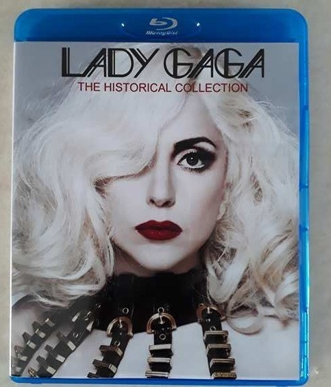 * Bluray Lady Gaga The Historical Collection - Frete Grátis