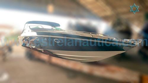 Lancha Magnum 39 Barco Iate Ferretti Azimut Intermarine