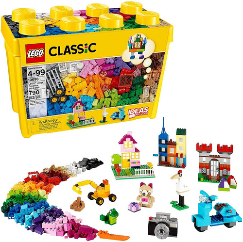 Lego Caja Grande 790 Fichas Classic 10698 Original Armar