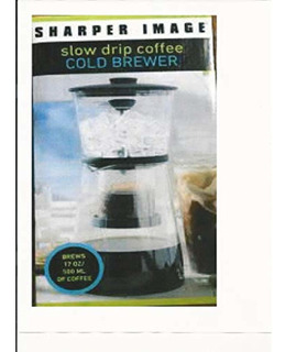 Sharperimage Sharper Image Slow Drip Coffee Colder Brewer