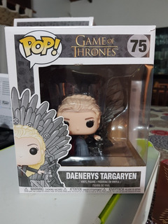 Funko Pop Daenerys Targaryen 75 Trono , Game Of Thrones