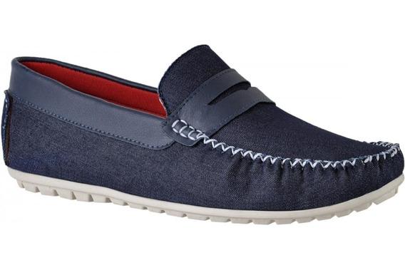 Sapato Tradicional Mocassim Sider Casual Masculino
