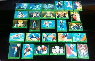 Cartas - Dragon Ball Z - Serie 5 - Verde