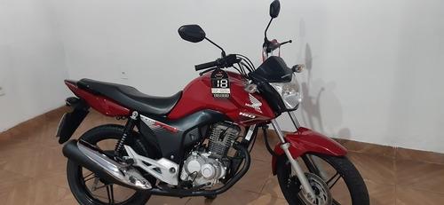 Honda Cg 160 Fan 2018 Vermelha