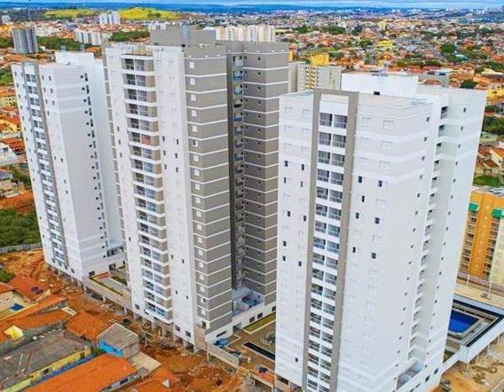 Apartamento Em Condomínio Residencial La Vista Moncayo, Sorocaba/sp De 72m² 2 Quartos À Venda Por R$ 335.000,00 - Ap536949