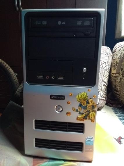 Computador Cpu Megaware Com Brinde Leia A Descrição