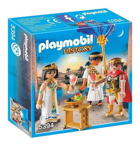 Playmobil History 5394 - Cesar Y Cleopatra - Roma Y Egipto