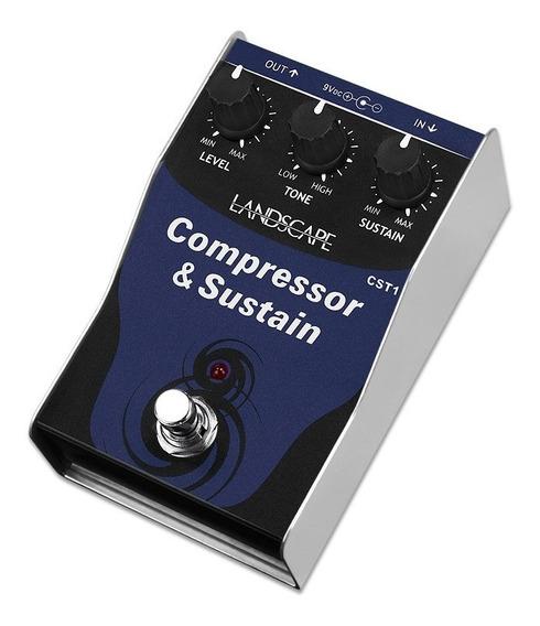 Pedal Guitarra Landscape Compressor Sustain Cst1 Pedalclub