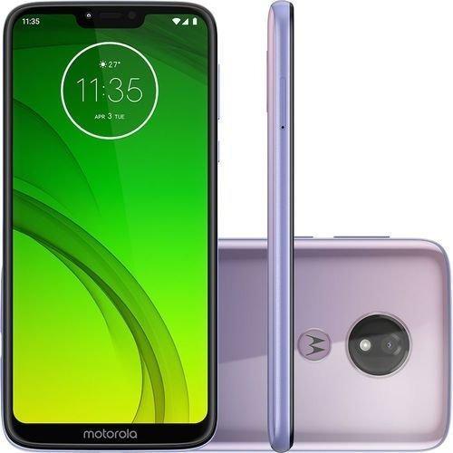Motorola Moto G7 Power 64gb- Lilac- Produto Usado!