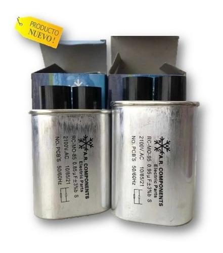 Capacitador  Microondas 0,76 0,85 0,95 Mf 2100 Vac  Nuevo