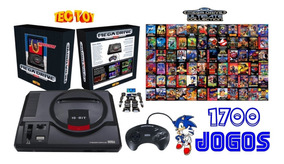 Sega Mega Drive Clássico Genesis C/ 1700 Jogos P. Entrega